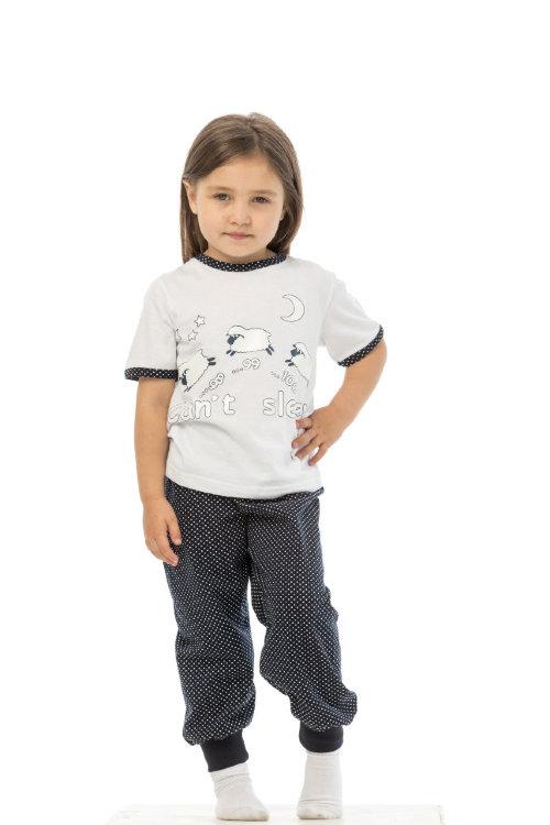 Пижама для девочек, барашки